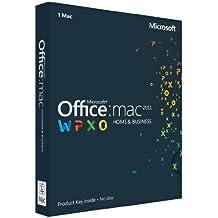 Office Mac Home & Business 2011 (1Mac/1User)