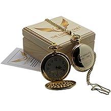 SYD BARRETT PINK FLOYD unterzeichnet Gold Taschenuhr 24Karat Gold beschichtet Full Hunter mit Kette Luxus-Geschenk-Fall