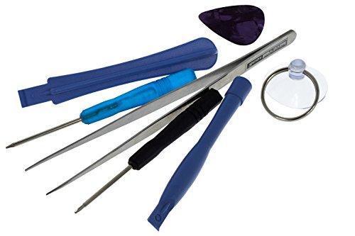 Smartfox 7 teiliges Werkzeug Kit Schraubenzieher Reparatur Torx Tool für Apple iPhone 4, iPhone 5, Samsung, HTC, Blackberry und weitere Geräte
