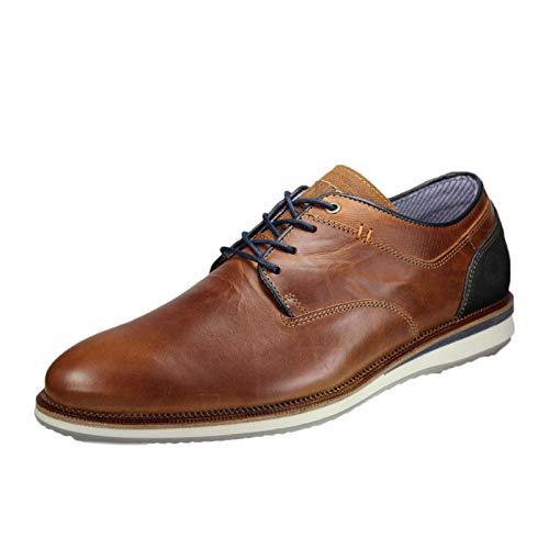 BULLBOXER 633 K2-5935A SU10 - Herren Schuhe Schnürer Sneaker - Coco, Größe:45 EU -