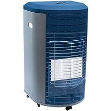 Vinco - 71405 VIN71405 - Estufa de gas con panel infrarrojos, color azul, blanco