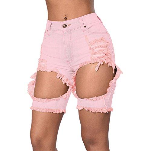 meinice-distrutto-cutoff-bermuda-pink-x-large