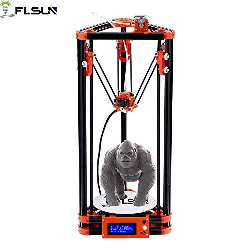 Flsun delta rostock stampante 3d kossel stampa grande formato (versione a puleggia)
