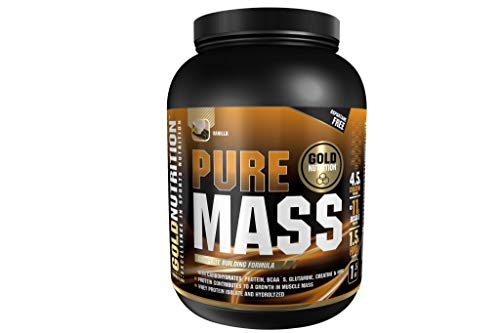 GoldNutrition Pure Mass - Sabor Vainilla - 1500 gr