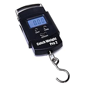 Catch weight pro 2 digital fishing electronic weighing for Mlf fishing scale