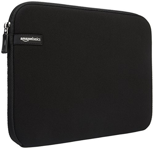 AmazonBasics Laptophülle für 33,8-cm-Laptops (13,3 Zoll, MacBook Air, MacBook Pro Retina Display) Schwarz - Laptop-zubehör Mac