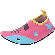 Zapatos de Agua Niño Qimaoo Zapatos de Agua de Natación Niños Zapatos de Playa para Niños