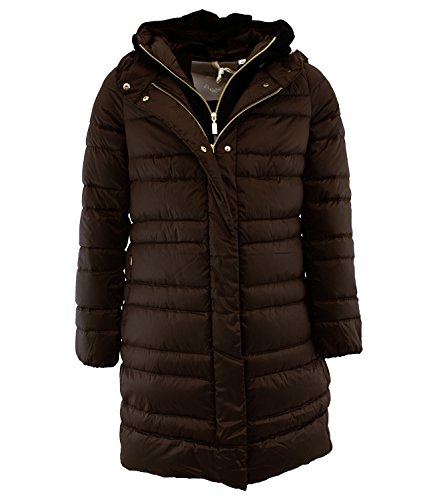 GATEPORT BMAT809 Geo Spirit Piumino d'oca Marrone 44 Donna