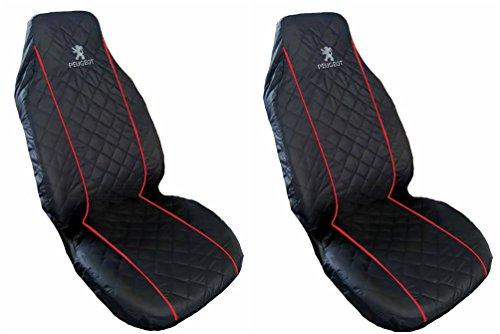 generique-peugeot-seat-covers-pour-siege-avant-rouge