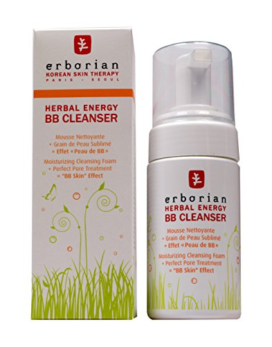 Cleaner Energy Herbal BB Erborian unisex, pulizia Emulsion 90 ml, 1 pacchetto (1 x 0168 kg)
