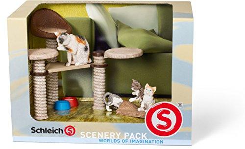 SCHLEICH 41801 - Catalog Scenery Pack Katzen