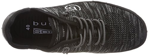 Bugatti 321480026900, Sneakers Basses Homme Noir (Schwarz)