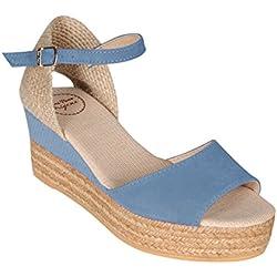 Sandalette DONNA denim Gr. 40 - (DONNA DENIM-DENIM GR. 40)