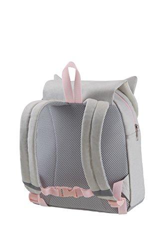 SAMSONITE Happy Sammies - Children Backpack S Zaino, 28 cm, 7.5 liters, Grigio (Kitty Cat)