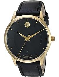 Movado Men's 0606875 Analog Display Swiss Automatic Black Watch