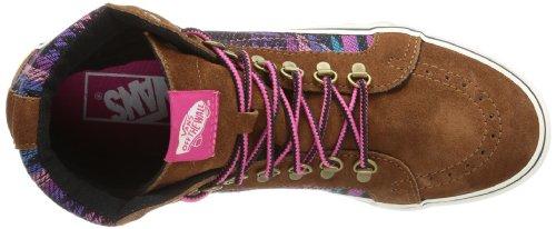 Vans U SK8-HI SLIM VQG38N7 Unisex-Erwachsene Sneaker Pink ((Inca) monks robe/magenta)
