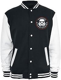 Star Wars Imperial - Stormtrooper Veste Collège noir/blanc