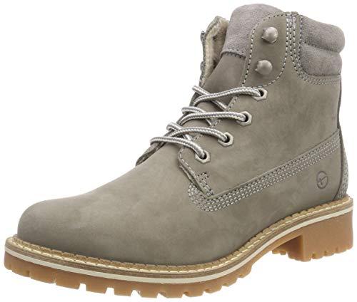 Tamaris Damen 25242-21 Combat Boots, Grau (Light Grey 254), 36 EU