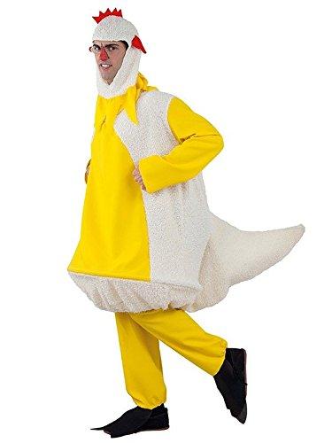 Imagen de disfraz de pollo adulto  único, xl