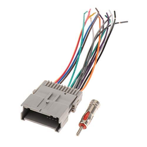 Almencla 2 Stü Autoradio Stereo Kabelbaum Antenne Für Buick Chevy GMC Pontiac -
