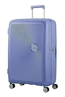 American Tourister Soundbox Spinner Espandibile Bagaglio A Mano, 77 cm, 97/110 L, 4.2 Kg, Blu (Denim Blue) (B079M2G922) | Amazon price tracker / tracking, Amazon price history charts, Amazon price watches, Amazon price drop alerts