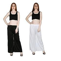 marami trouser black white