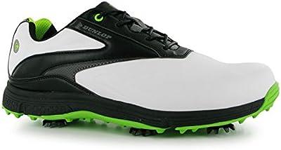 Dunlop - Zapatos de golf de Piel para hombre