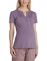 Anita Women's Oberteil Isabell Short Sleeve Maternity Pyjama Top