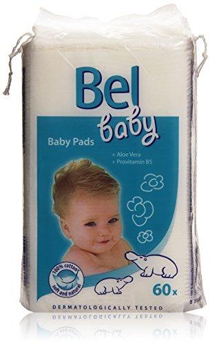 Coton maxi carrés pour bébé BEL BABY, x60