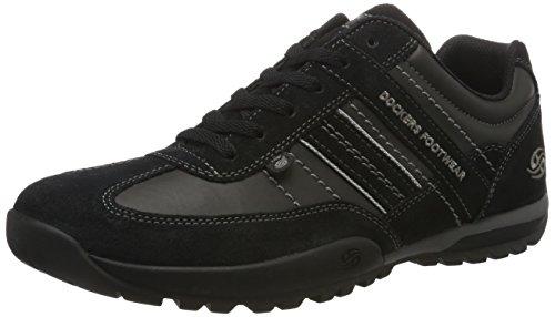 Dockers by Gerli Herren 36HT001-204320 Sneakers, (Schwarz/Grau 120), 43 EU