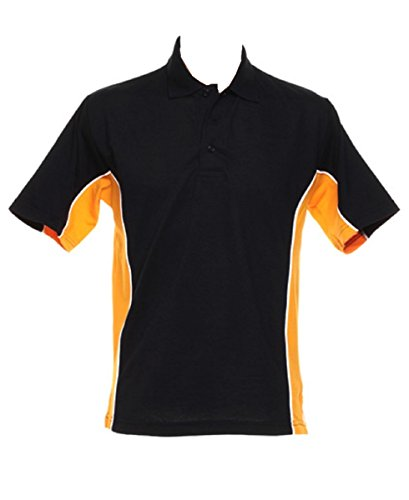 Gamegear Polo da donna Schwarz - Black/Gold
