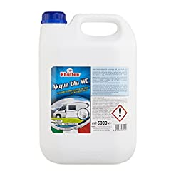 Rhutten 180312 Liquido Chimico Akqua Blu WC 5 Litri