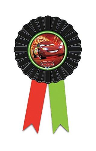 Disney NEON Cars Award Band Rosette