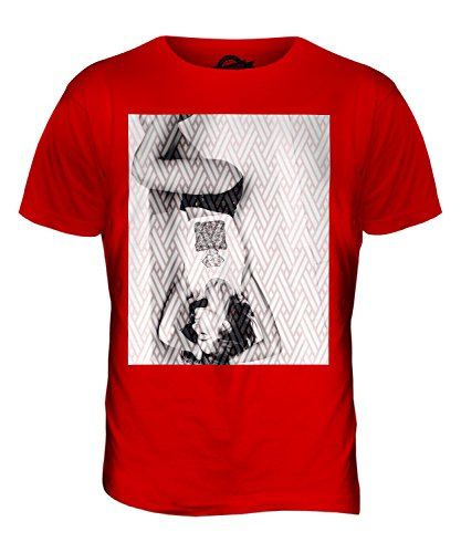 CandyMix Modell Im Bad Herren T Shirt Rot
