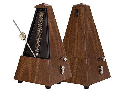 landtom® Mechanisches Metronom hörbarer Click & Glocke RING Pyramide Stil für Gitarre/Bass/Klavier/Violine