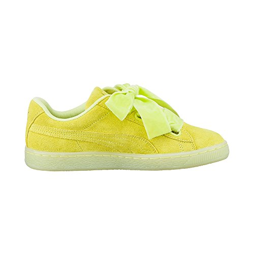 Puma Suede Heart reset wmns aruba blue 363229 SOFT FLUO YELLOW-SOFT FLUO YELLOW