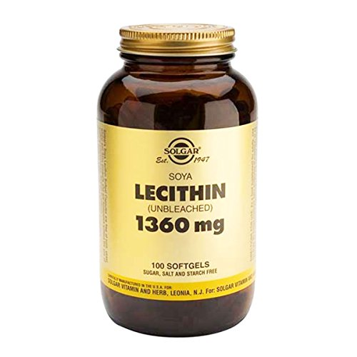 Solgar Lecithin 1360mg 100tabs