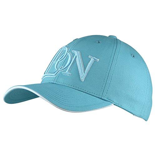 Baseball Cap, Motiv: London, 6 Panel, gebogener Schirm - S - Tiffany Turquoise - Tiffany Golf