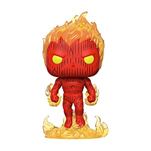 Funko- Pop Marvel: Fantastic Four-Human Torch Collectible Toy, Multicolor (44987)