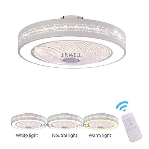 Neue Deckenventilator Negativ Ionen Lüfter Licht Deckenventilator Licht Schlafzimmer Arbeitszimmer mit Fernbedienung Lüfter Licht Luftreinigung Lüfter Licht 60 cm -