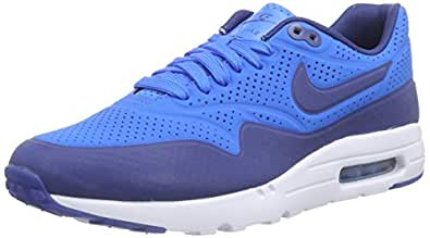 Nike Air Max 1 Ultra Moire, Running Entrainement Homme, Blu (photo blue/insignia blue-white), 40.5
