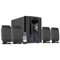 Intex IT-301 FMUB 4.1 Multimedia Speaker with Bluetooth/USB/FM/AUX