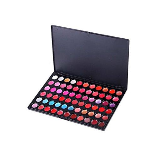PIXNOR 66 Couleurs Lèvres Gloss Palettes de Maquillage