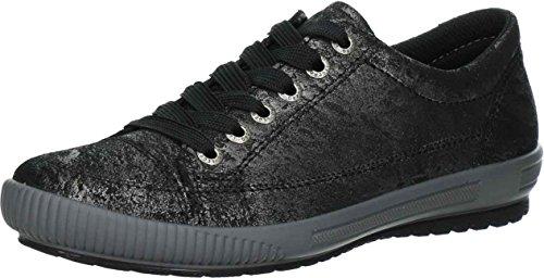 Superfit 7-00820-03, Zapatos Con Cordones Negros Para Mujeres