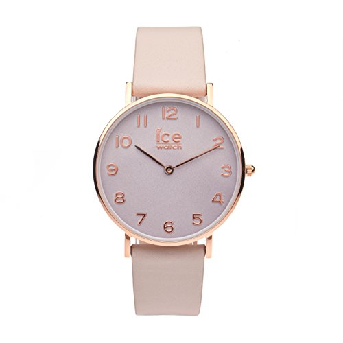 Ice-Watch - City Tanner Taupe Rose-Gold - Women's Wristwatch with Leather Strap - 001506 (Small)