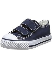 Victoria Zapato Basket Velcros - Primeros Pasos de Lona Bebé-Niños