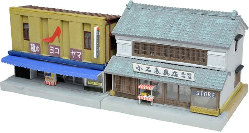 The Building Collection 097 Shoe Shop & Japanese Interior Store (Model Train)