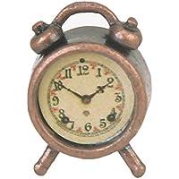 SODIAL(R) Despertador de metal vivo miniatura de casa de munecas 1/12