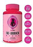 Slim Girlz Brûleur de graisse |Pilule Minceur|Perte de Graisse Et De Poids|Coupe faim|Pour la Perte De Poids Pour Femmes|10 Ingrédients Actifs|Sans stimulants|Fabriqué dans l'UE| 60 Capsules Véganes