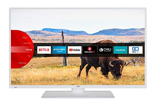 JVC LT-40V55LWA 102 cm (40 Zoll) Fernseher (Full HD, Triple-Tuner, Smart TV, Prime Video, Bluetooth)